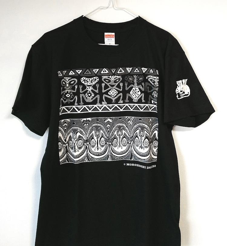 「Tシャツ『仮面』」。S・M・L・XLの4サイズ展開。