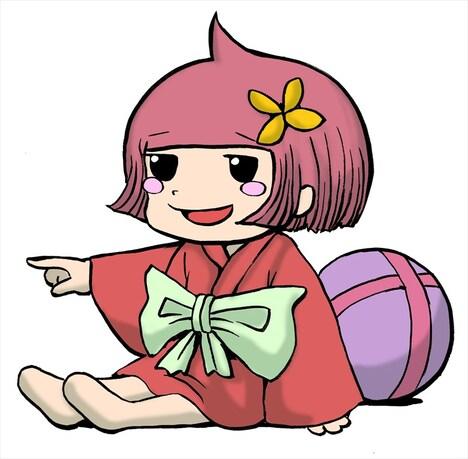 タタミちゃんの原案絵。
