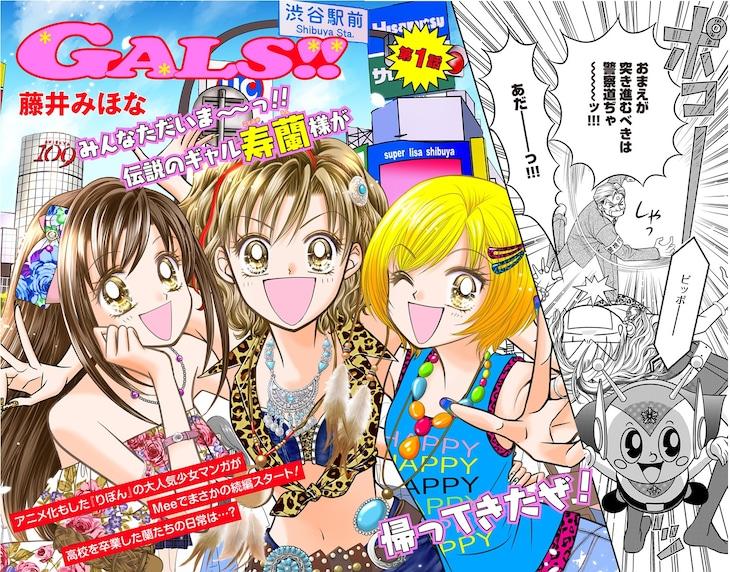 「GALS!!」第1話より。(c)藤井みほな/集英社
