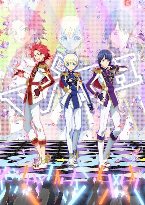 TVアニメ「アイドルタイムプリパラ」より、WITHのビジュアル。(c)T2A/S/TX/IPP