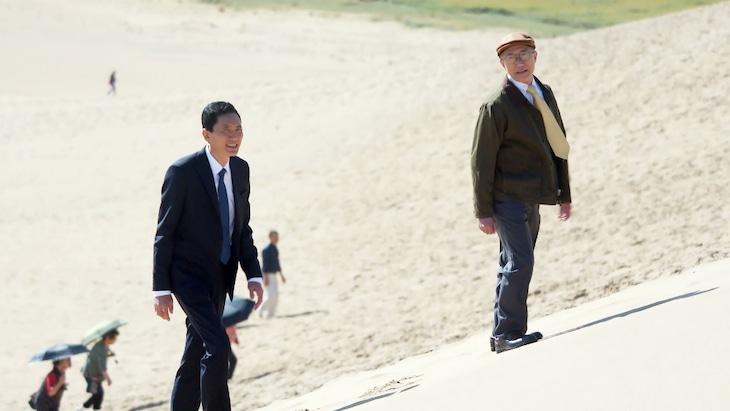 「孤独のグルメ Season8」第8話「鳥取出張編」の場面カット。