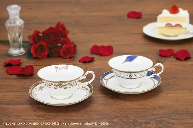 「ジョジョの奇妙な冒険 黄金の風×Noritake ティーカップ&ソーサーセット」