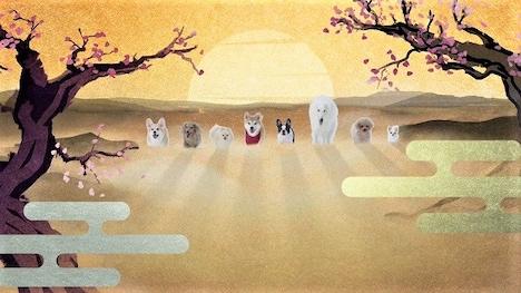 TVアニメ「織田シナモン信長」ティザーPVより。