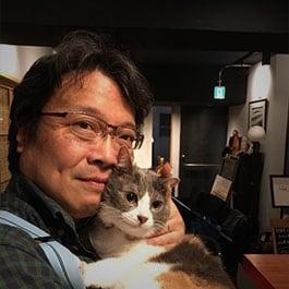 ウイスキー評論家の山岡秀雄氏。