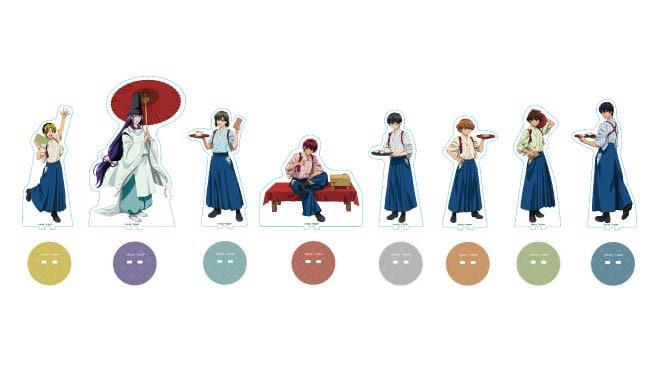 「ヒカルの碁」カフェ開催!和装のヒカルら描いた新規イラストグッズも販売