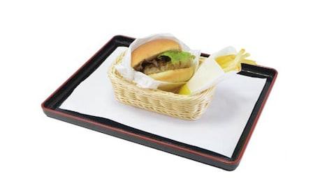 「院生組の帰り道 みんなで食べたハンバーガー」