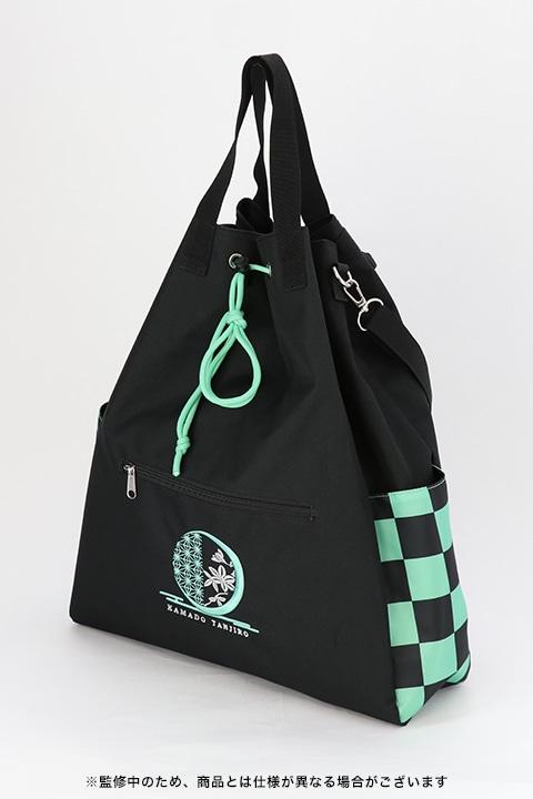 竈門炭治郎モデルの3wayバッグ。