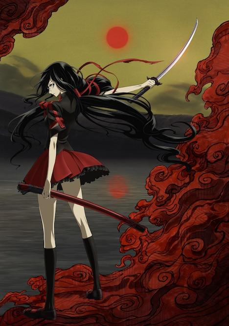 TVアニメ「BLOOD-C」ビジュアル