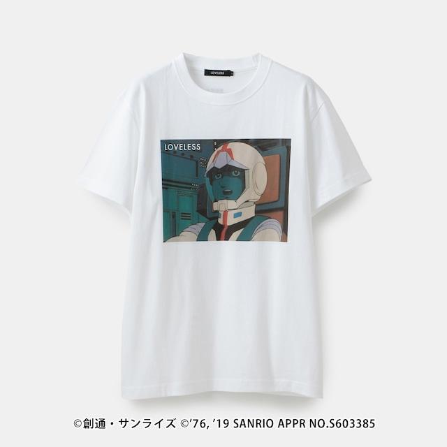 「ガンダムvsハローキティ」プロジェクトとLOVELESSのコラボTシャツ。