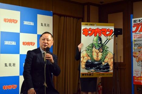 キン肉マンソルジャーについて語る嶋田隆司。