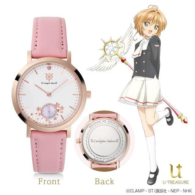 さくらモデルの腕時計。