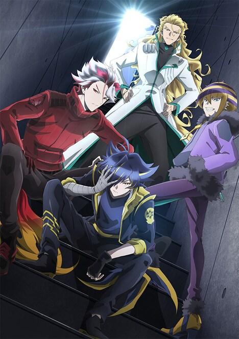 TVアニメ「SHOW BY ROCK!! ましゅまいれっしゅ!!」より、DOKONJOFINGERのビジュアル。