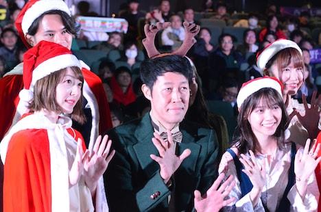 劇場アニメ「サンタ・カンパニー ~クリスマスの秘密~」舞台挨拶より。