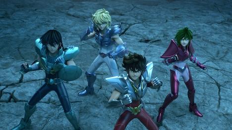 「聖闘士星矢: Knights of the Zodiac」パート2より。