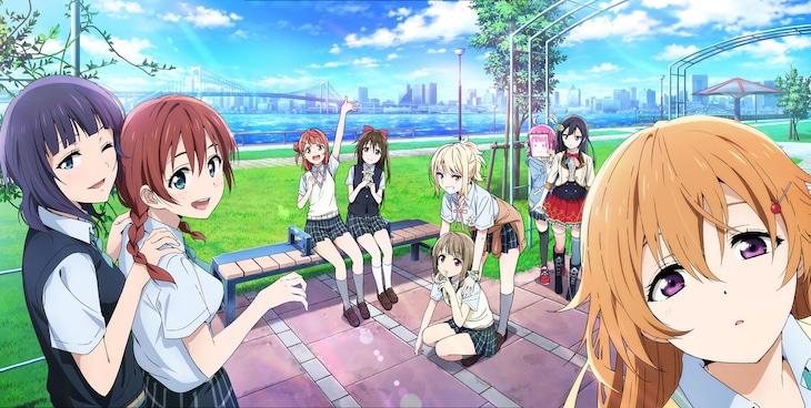 TVアニメ「ラブライブ!虹ヶ咲学園スクールアイドル同好会」ティザービジュアル