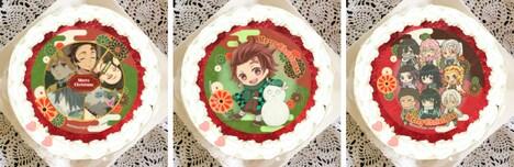 「鬼滅の刃」クリスマスケーキ