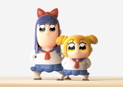 TVアニメ「ポプテピピック」より。