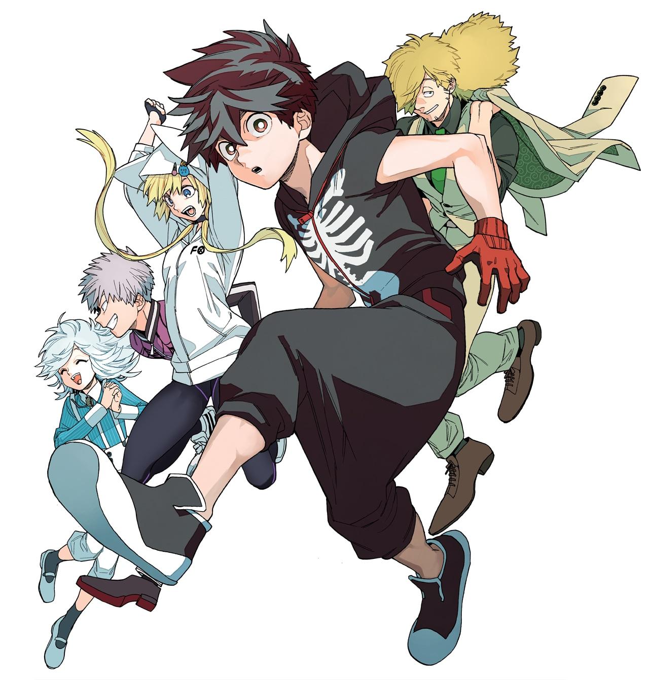 【アニメ】藍本松「怪物事変」TVアニメ化!屍鬼と人の間に生まれた少年の数奇な運命描く