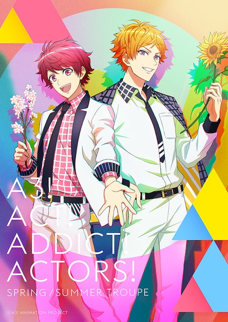「『A3!』SEASON SPRING & SUMMER」©A3! ANIMATION PROJECT