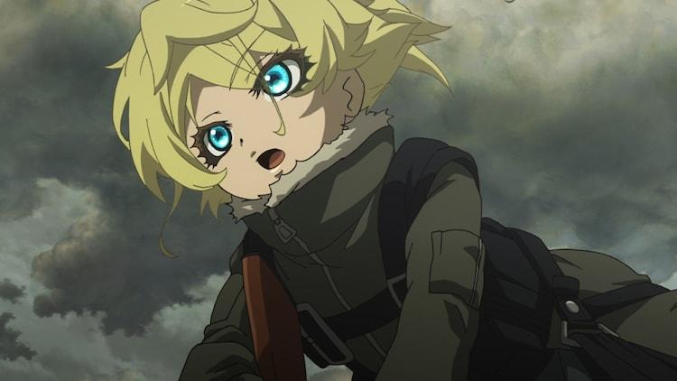 TVアニメ「幼女戦記」より。