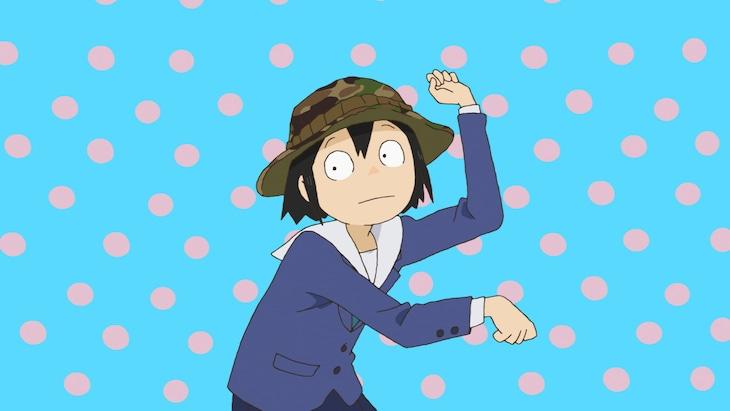 TVアニメ「映像研には手を出すな!」オープニング映像より。