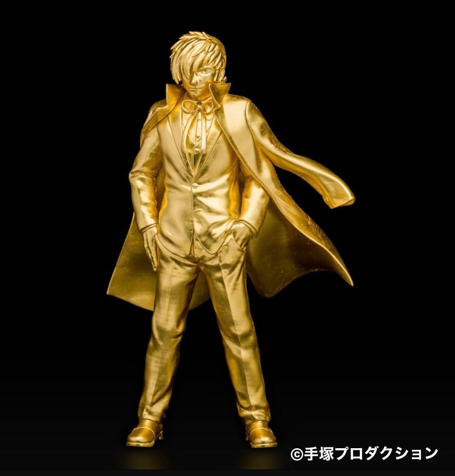 【イベント】手塚治虫作品の金製品が並ぶ「大黄金展」、等身大ブラックジャックは2200万円