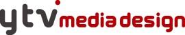 配信を手がけるytvメディアデザインのロゴ。