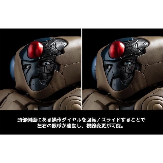 「幻魔大戦 ベガ 12インチアクションフィギュア」眼球可動の様子。