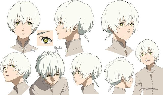 Conception de personnage Fushi.