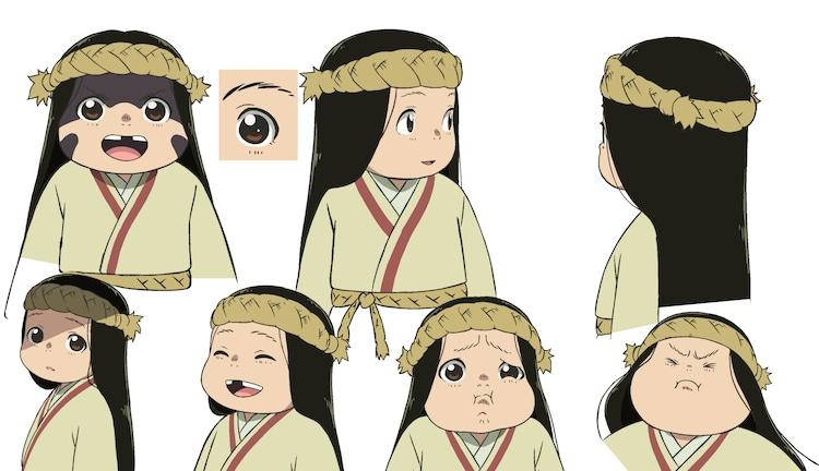 マーチのキャラクターデザイン。