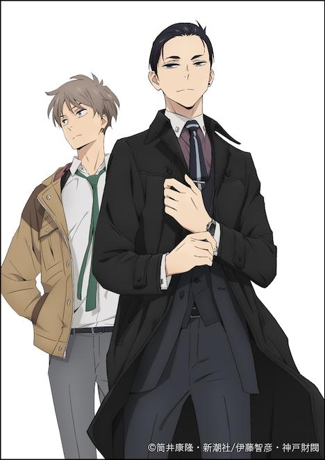 TVアニメ「富豪刑事 Balance:UNLIMITED」第1弾キービジュアル