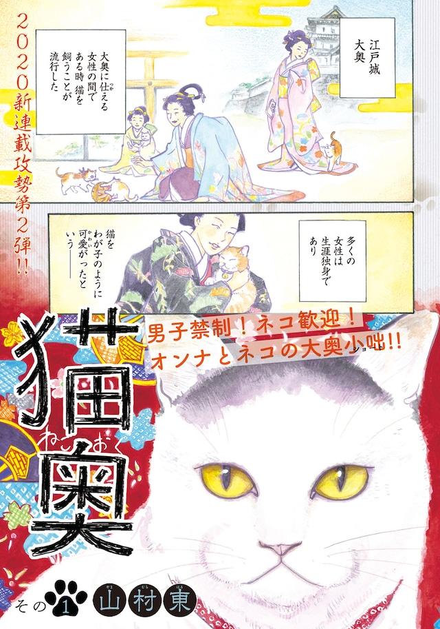 「猫奥」扉ページ。(c)山村東/講談社