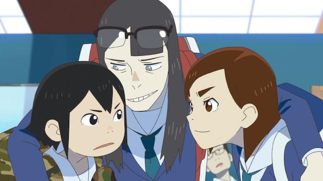 TVアニメ「映像研には手を出すな!」第2話より。