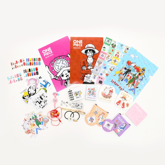 「3COINS×ONE PIECE」コラボレーションアイテム。