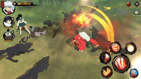 「犬夜叉 -よみがえる物語-」画面イメージ