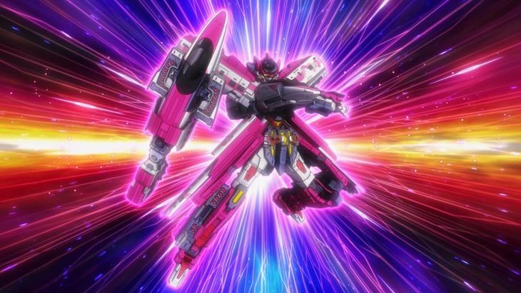 コラボアニメの場面カット。