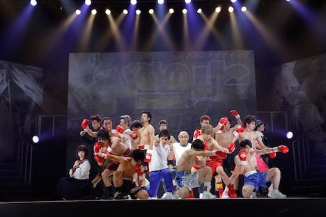 「リアルファイティング『はじめの一歩』The Glorious Stage!!」公開ゲネプロより。