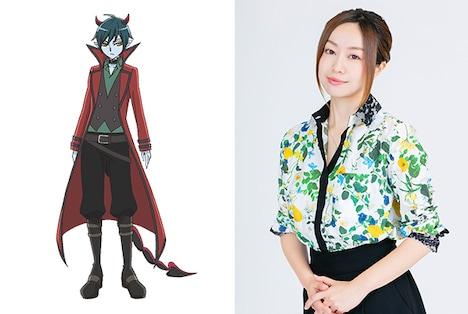 ダルイゼン役の田村睦心。