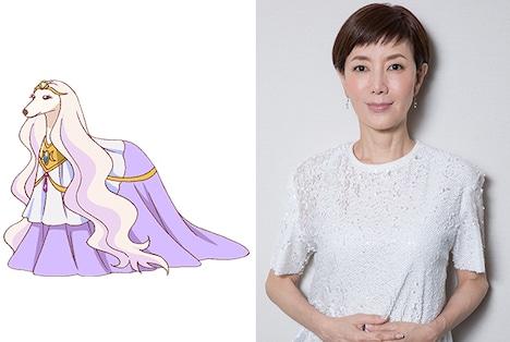 テアティーヌ役の戸田恵子。