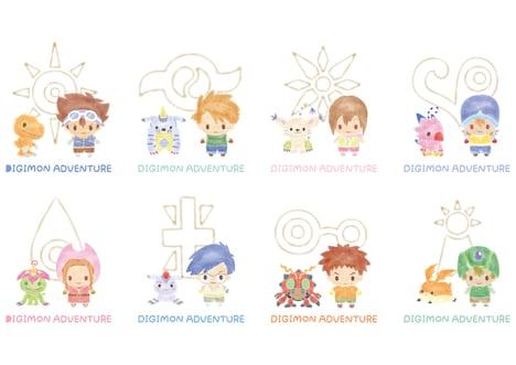 「サンリオキャラクターズ×デジモンアドベンチャー」より、「サンリオデザインプロデュース」のデザイン。