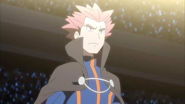 「ダイマックスバトル!最強王者ダンデ!!」の場面カット。