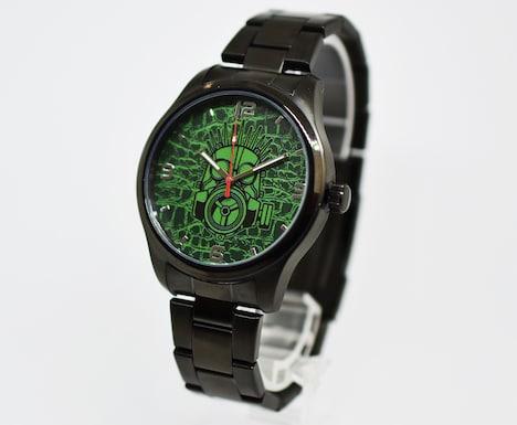 TVアニメ「ドロヘドロ」の腕時計、「カイマンモデル」。