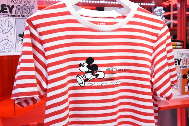 「Mickey Manga Art」より、手塚治虫のコラボTシャツ。