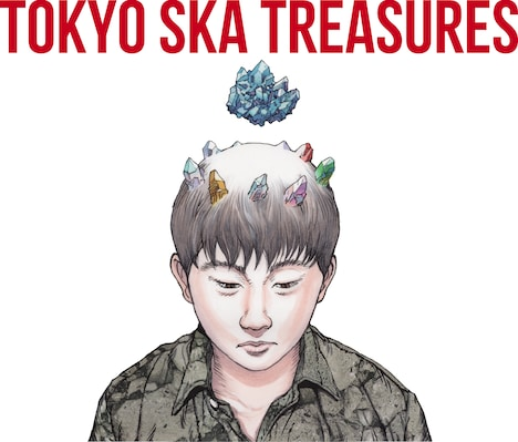 「TOKYO SKA TREASURES ~ベスト・オブ・東京スカパラダイスオーケストラ~」CD ONLY盤ジャケット
