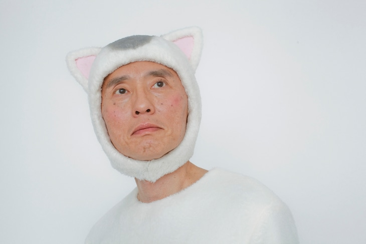 松重豊扮する猫村ねこ。(c)テレビ東京