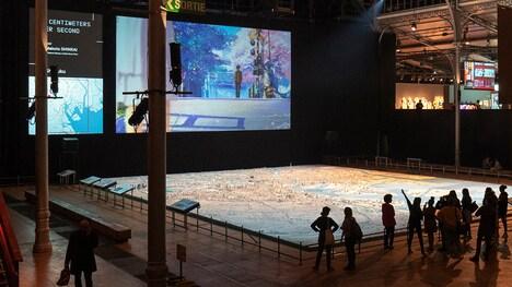 パリでの「MANGA⇔TOKYO」展の様子。(c)MANGA ⇔ TOKYO Japonismes 2018