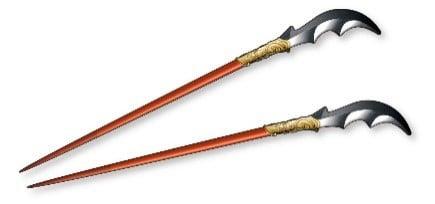 「『キングダムオリジナル』 王騎の矛箸」イメージ
