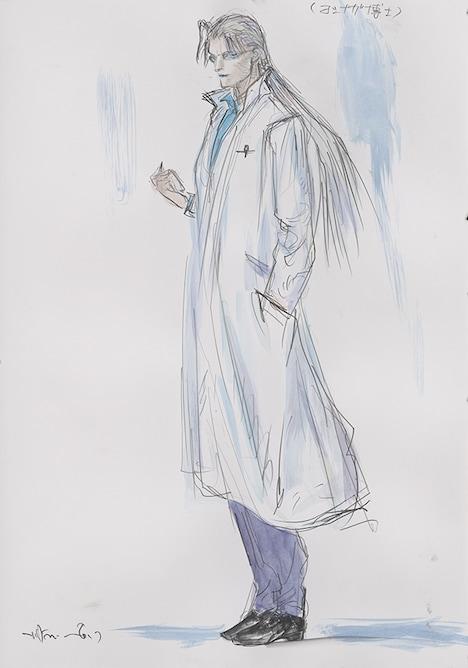 ヨシナガ博士(CV:池田秀一)。ジビエを治すワクチンの研究をしている博士。千水達の協力を得て、ワクチン作りに必要な「ジビエの毒針」を集める。