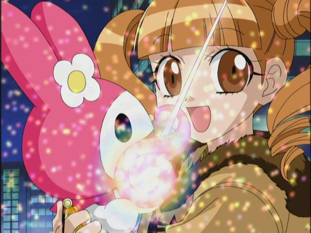 TVアニメ「おねがいマイメロディ」より。(c)1976,2005,2020 SANRIO CO., LTD. サンリオ/ウィーヴ・テレビ大阪・マイメロディ製作委員会