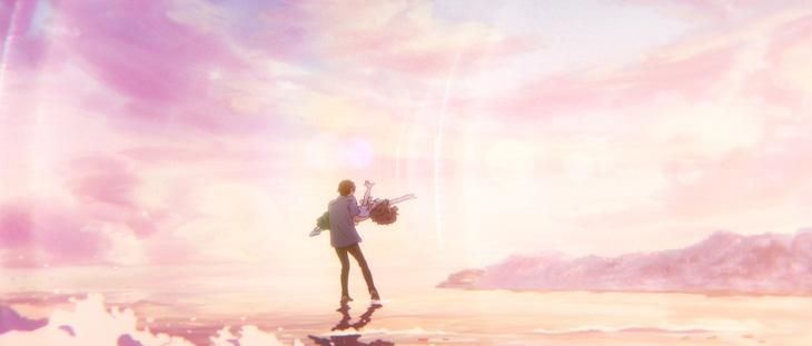 アニメ映画「ジョゼと虎と魚たち」の場面カット。 (c)2020 Seiko Tanabe/ KADOKAWA/ Josee Project